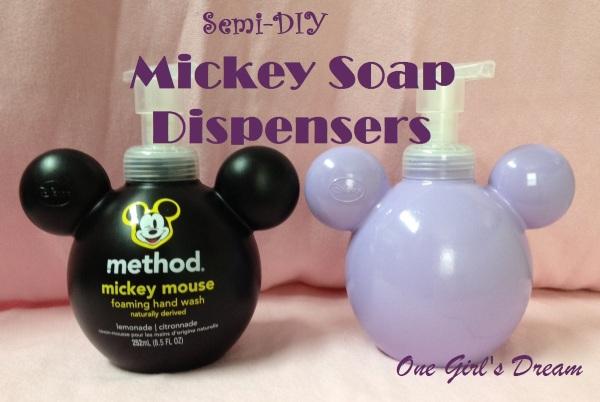 diy mickey soap