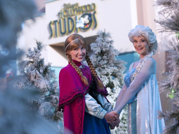 frozen hollywood studios