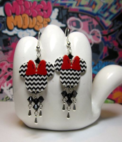 minnie dangle earrings